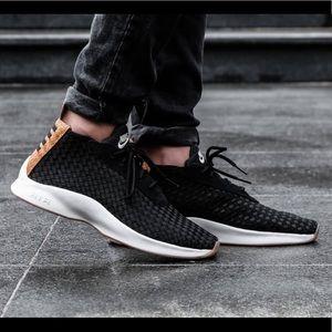 NEW 👟 Nike Air Woven Boot Black Dark Russet